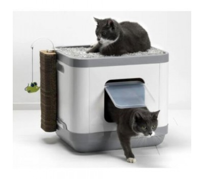 Cat Concept 4 в 1 (туалет, лежанка, дразнилка, когтеточка)