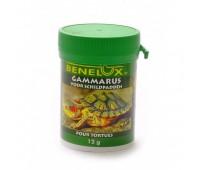 Сушеный гаммарус, корм для черепах, Gammarus turtle food 12гр