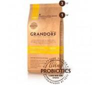 GRANDORF ADULT 4 MEAT  BROWN RICE для взрослых собак всех пород четыре вида мяса с пробиотиками, 12кг.