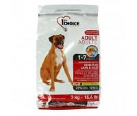 Корм 1st Choice для взрослых собак с ягненком, Adult Sensitive SkinCoat, 15кг.