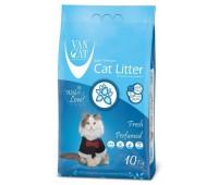 Van Cat комкующийся наполнитель без пыли с ароматом весенней свежести, пакет