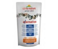 Корм Almo Nature Alternative со свежим цыпленком для кошек (55% мяса), Alternative Chicken and Rice 0.75кг.