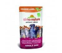 Almo Nature Органик-Суп для Собак с Говядиной и Овощами (Orange label BIO Soup BeefVegetables) 0,14 кг.