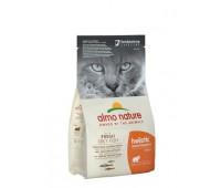 Корм Almo Nature для взрослых кошек с жирной рыбой и коричневым рисом Adult Cat White FishRice 12кг