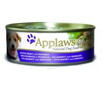 Applaws консервы для собак с курицей, овощами и рисом, Dog Chicken, Veg & Rice - 156 г