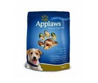 Applaws паучи для собак с курицей, лососем и овощным ассорти, Dog Chicken & Salmon - Veg Pouch - 150 г