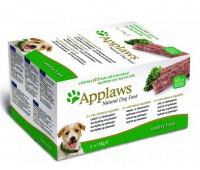 "Applaws набор для собак ""Курица, ягненок, лосось"": 5шт.x150г, Dog Pate MP Country Selection-Chicken, Lamb, Salmon"