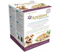 """Applaws набор из 5 паучей в желе для собак """"Великолепие вкусов"""", Dog Jelly Pouch Finest Selection - 5шт х 100г"""