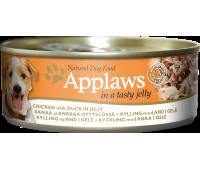 Applaws консервы для собак курица с уткой в желе - 156 г