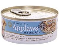 Applaws консервы для собак курица с тунцом в желе - 156 г