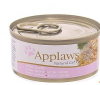Applaws консервы для котят с сардинками, Kitten chicken, 70г