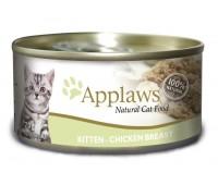 Applaws консервы для котят с курицей, Kitten chicken, 70г