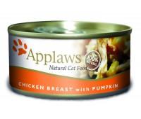 Applaws консервы для кошек с куриной грудкой и тыквой, Cat Chicken Breast & Pumpkin