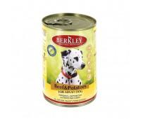 Berkley консервы для собак с говядиной и картофелем - 400 г