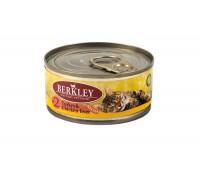 Berkley консервы для котят с индейкой и куриной печенью, Kitten Turkey&Chicken Liver - 100 г