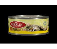 Berkley консервы для кошек с говядиной и олениной - 100 г
