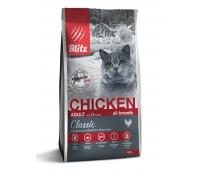 BLITZ Chicken Adult ALL BREEDS КУРИЦА корм для взрослых кошек всех пород   0,4кг