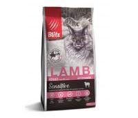Blitz LAMB Adult ALL BREEDS  ЯГНЕНОК корм для взрослых кошек всех пород  0,4кг