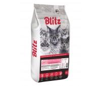 Blitz LAMB Adult ALL BREEDS  ЯГНЕНОК корм для взрослых кошек всех пород  10кг