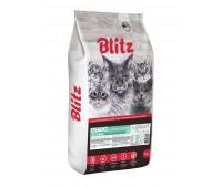 BLITZ Kitten ALL BREEDS  корм для котят всех пород 10кг