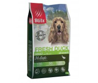 BLITZ Holistic LG FRESH DUCK ALL BREEDS   СВЕЖАЯ УТКА  корм для взрослых собак всех пород  1,5кг
