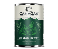 CANAGAN полнорационный влажный корм для собак, куриное рагу 400г