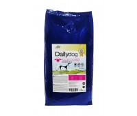 Корм DailyDog для взрослых собак средних пород с ягненком и рисом, ADULT MEDIUM BREED Lamb and Rice - 12 кг