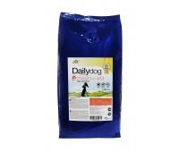 Корм DailyDog для щенков крупных пород с индейкой и рисом, PUPPY LARGE BREED Turkey and Rice - 12 кг