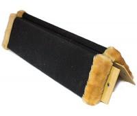 Когтеточка ковровая с пропиткой угловая 57*24*2см