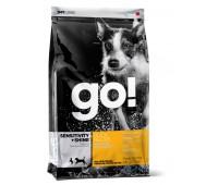 GO! Корм Для Щенков и Собак с Цельной Уткой и овсянкой (Sensitivity + Shine Duck Dog Recipe 22/12) 0,23кг.