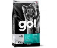 GO! Корм беззерновой для Собак всех возрастов - 4 вида мяса: Индейка, Курица, Лосось, Утка (Fit + Free Grain Free All life Stages) 0,23 кг.