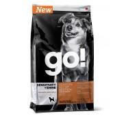 GO! Корм Беззерновой для Щенков и Собак со свежей олениной для чувств. пищеварения (Sensitivity + Shine Venison Recipe Grain Free, Potato Free 22/12) 0,23 кг.