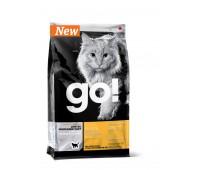 GO! NATURAL Holistic Корм Беззерновой для котят и кошек с чувств. пищеварением со свежей уткой (Sensitivity + Shine Grain Free Duck Cat Recipe ) 31/15 230гр.