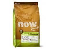 NOW! NATURAL Holistic Корм Беззерновой для Малых пород Всех возрастов с Индейкой, Уткой и овощами (Fresh Small Breed Recipe Grain Free) 0,23 кг.