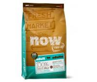 NOW! NATURAL Holistic Корм Беззерновой для Взрослых собак Крупных пород с Индейкой, Уткой и овощами (Fresh Adult Large Breed Recipe Grain Free 27/13) 5,45 кг.