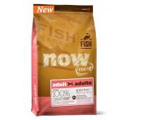 NOW! NATURAL Holistic Корм Беззерновой для взрослых собак с форелью и лососем для чувствительного пищеварения 023кг.