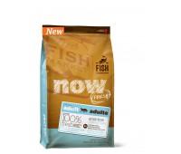 NOW Natural holistic Беззерновой  корм  для Взрослых Кошек с Форелью и Лососем для чувств. пищеварения  (Grain Free Fish Adult Recipe CF)  3,63 кг.