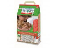 Комкующийся древесный наполнитель для кошек, Eko Plus