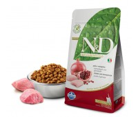 N&D Cat Chicken & Pomegranate Kitten - Курица, гранат - Полнорационный беззерновой корм для котят, беременных и лактирующих кошек