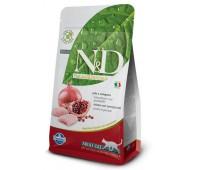 N&D Cat Chicken & Pomegranate Adult - Курица, гранат - Полнорационный беззерновой корм для взрослых кошек.