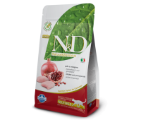 N&D Cat Chicken & Pomegranate Neutered - Курица, гранат. Полнорационное питание для взрослых кошек.