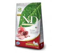 N&D Dog GF Chicken & Pomegranate Adult Mini - Курица, гранат - Полнорационный корм для взрослых собак. 800гр