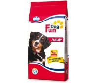 Fun Dog Adult - Полнорационный и сбалансированный корм для взрослых собак