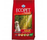 Ecopet Natural Adult -  корм для взрослых собак 2,5кг