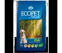 Ecopet Natural Fish  - для взрослых собак