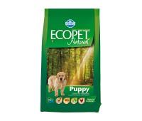 Ecopet Natural Puppy - Полнорационный и сбалансированный корм для щенков, беременных и лактирующих сук
