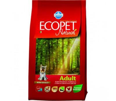 Ecopet Natural Adult Mini - Полнорационный и сбалансированный корм для взрослых собак