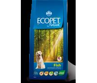 Ecopet Natural Fish Maxi  - корм для взрослых собак - 12 кг