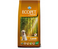 Ecopet Natural Lamb Maxi  - для взрослых собак с проблемами пищеварения и аллергией