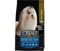 Cibau Sensitive Fish Mini - Полнорационный и сбалансированный корм для взрослых собак мелких пород